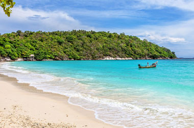 Thailand phuket island on the 5th with group tour